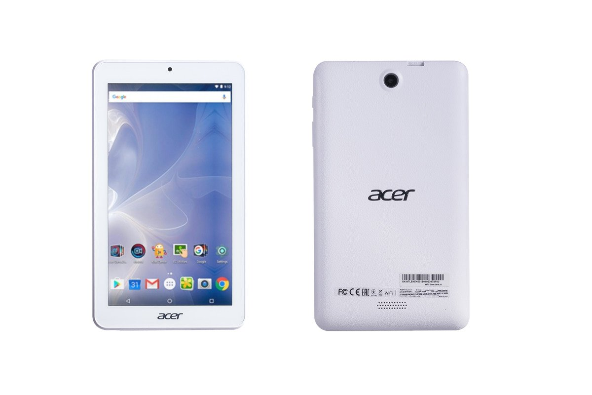 Acer Iconia One 7 8GB Wi-Fi White B1-7A0 Grade A