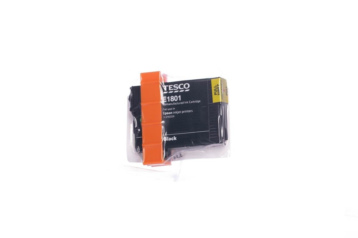 Remanufactured Ink cartridge Tesco Epson T1801 Black