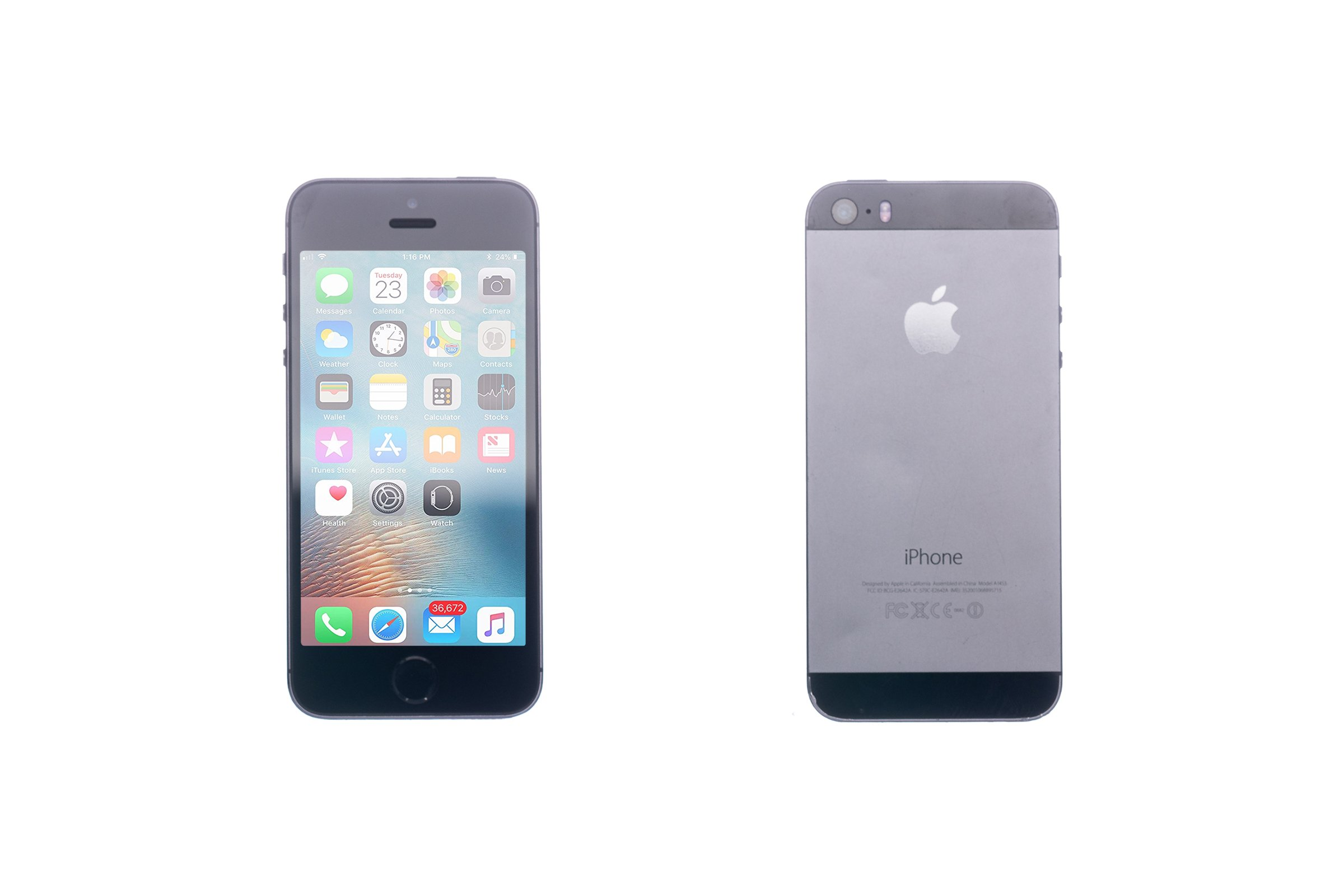 ecac7e66c2fc79 Apple Iphone 5S 64GB Space Grey A1453 Grade C | Mobiles and ...