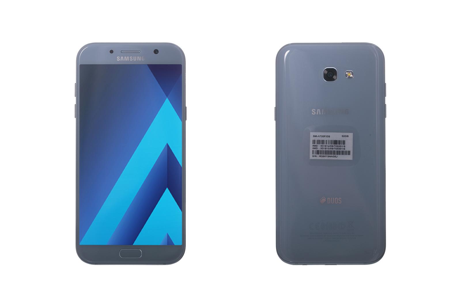 Samsung Galaxy A7 (2017) Blue SM-A720F Dual sim 32 GB grade C