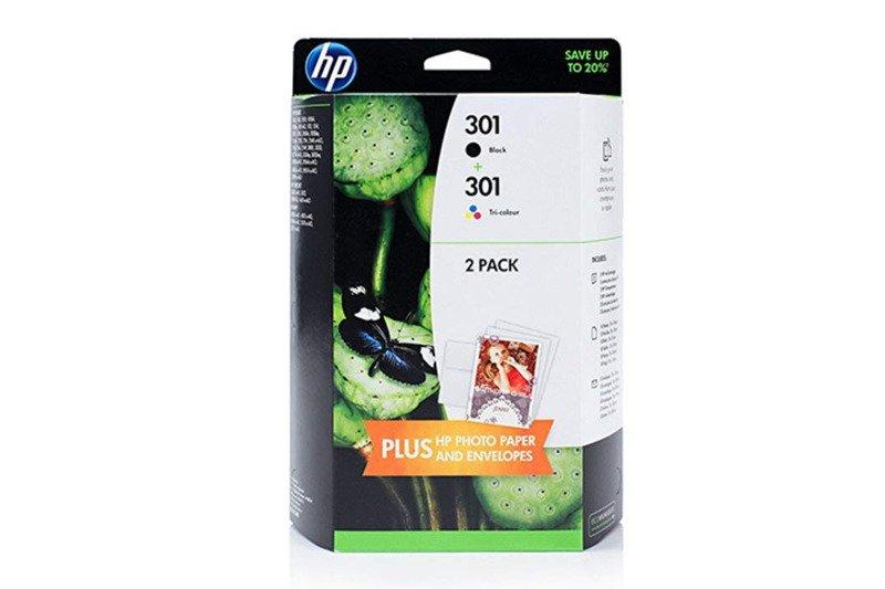 Genuine Ink Cartridge HP 301 J3M81AE Black/Tricolor