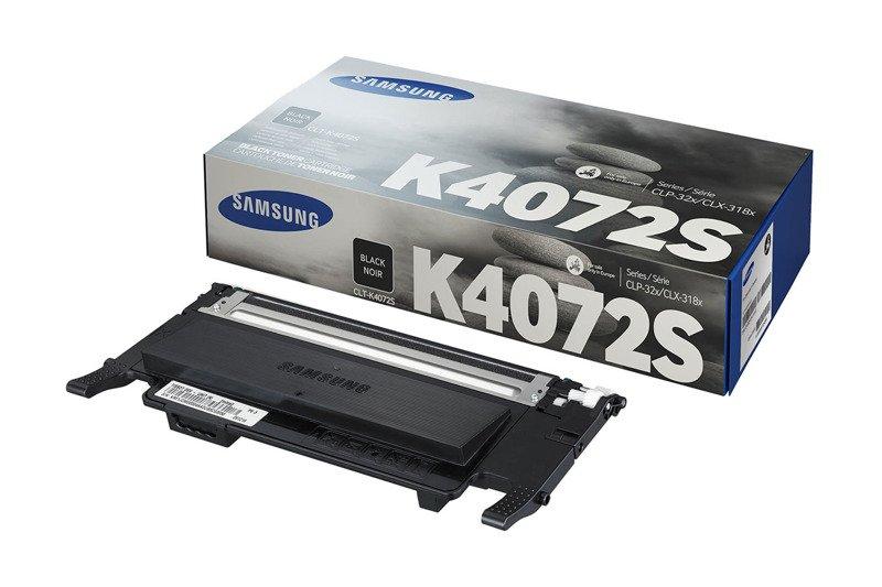 Genuine Ink Cartridge Samsung CLT-K4072S CLT-K4072S Black
