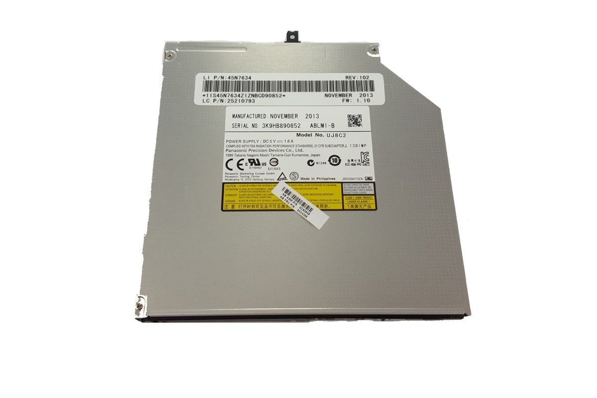 Nagrywarka Laptop CD-RW DVD-RW Panasonic UJ8C2